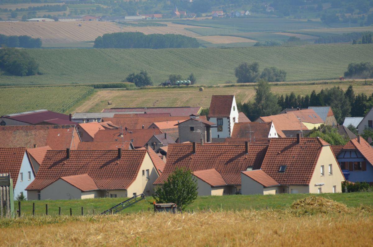 Vue du village 2013 (Crédit Yannick)